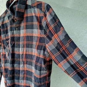 Volcom Flannel Longsleeve Button Up Shirt